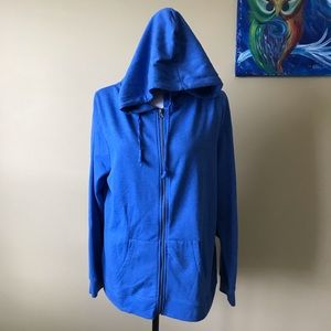 Threads 4 Thought Blue Hoodie